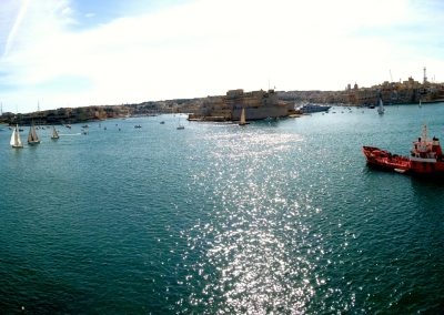 VistaJet Malta | Grand Harbour Valletta Panorama