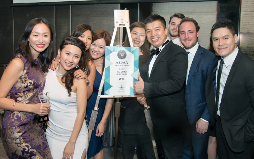 VistaJet Receives Best Charter Operator 2016 Award From Asian Business Aviation Association