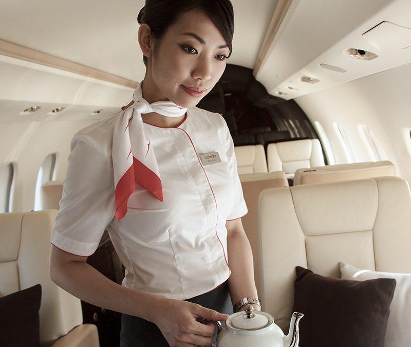 高品质的客舱体验和全球覆盖成为中国精英阶层公务出行的首选