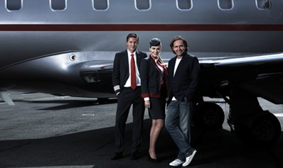 VistaJet debuts new flight crew uniforms