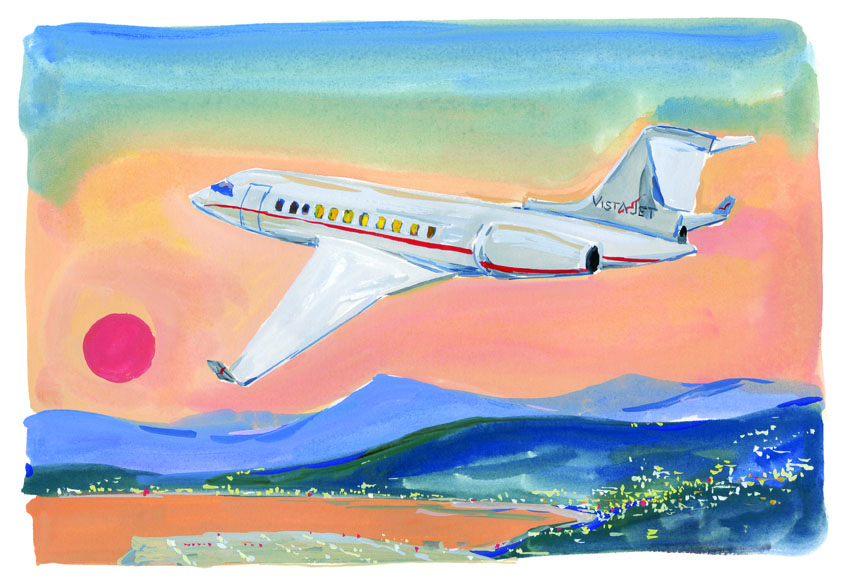 VistaJet – The Illustrated Story