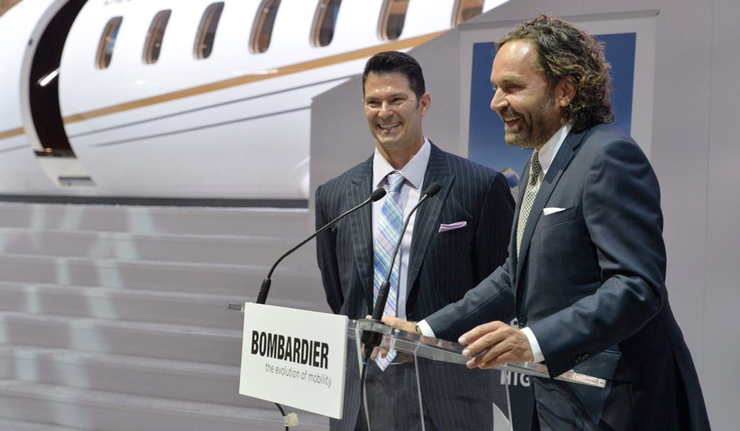 Bombardier Celebrates its 100th Aircraft Delivery into the VistaJet Fleet