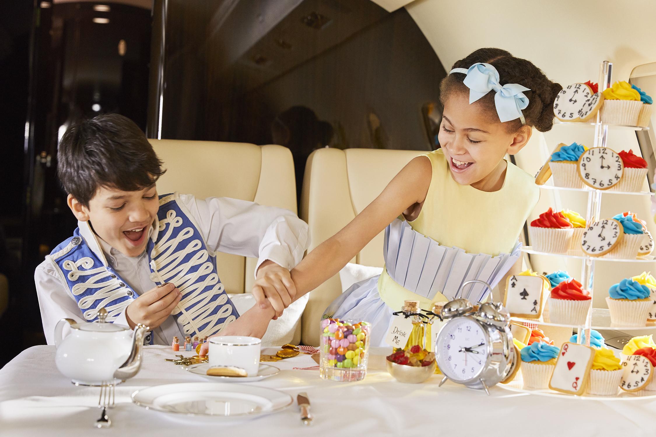 儿童私人飞行-维思达公务机