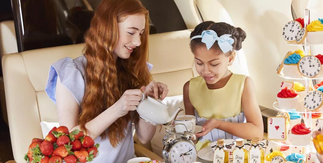 儿童乘私人飞机2- 维思达公务机