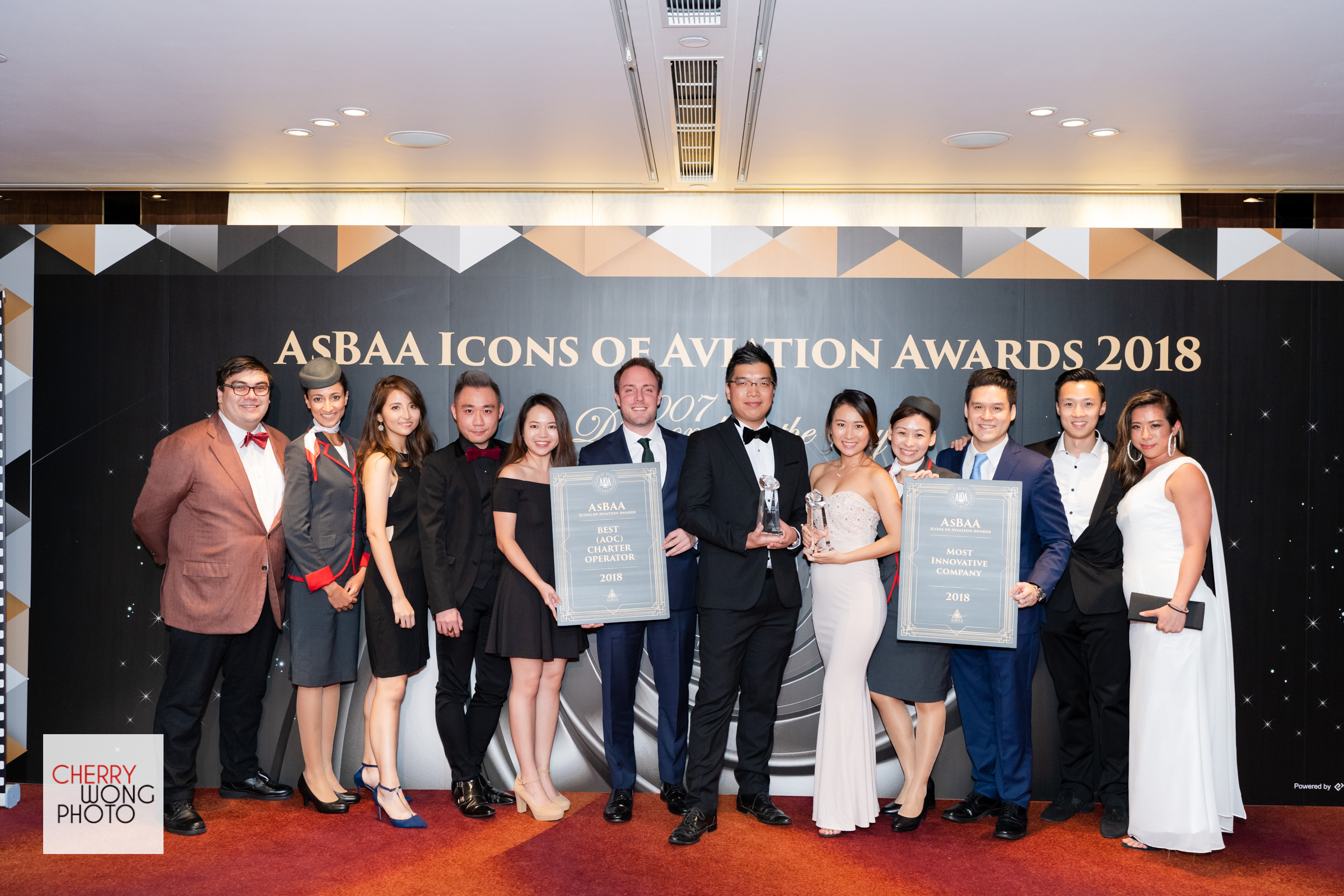 VistaJet receives two AsBAA Icons of Aviation Awards