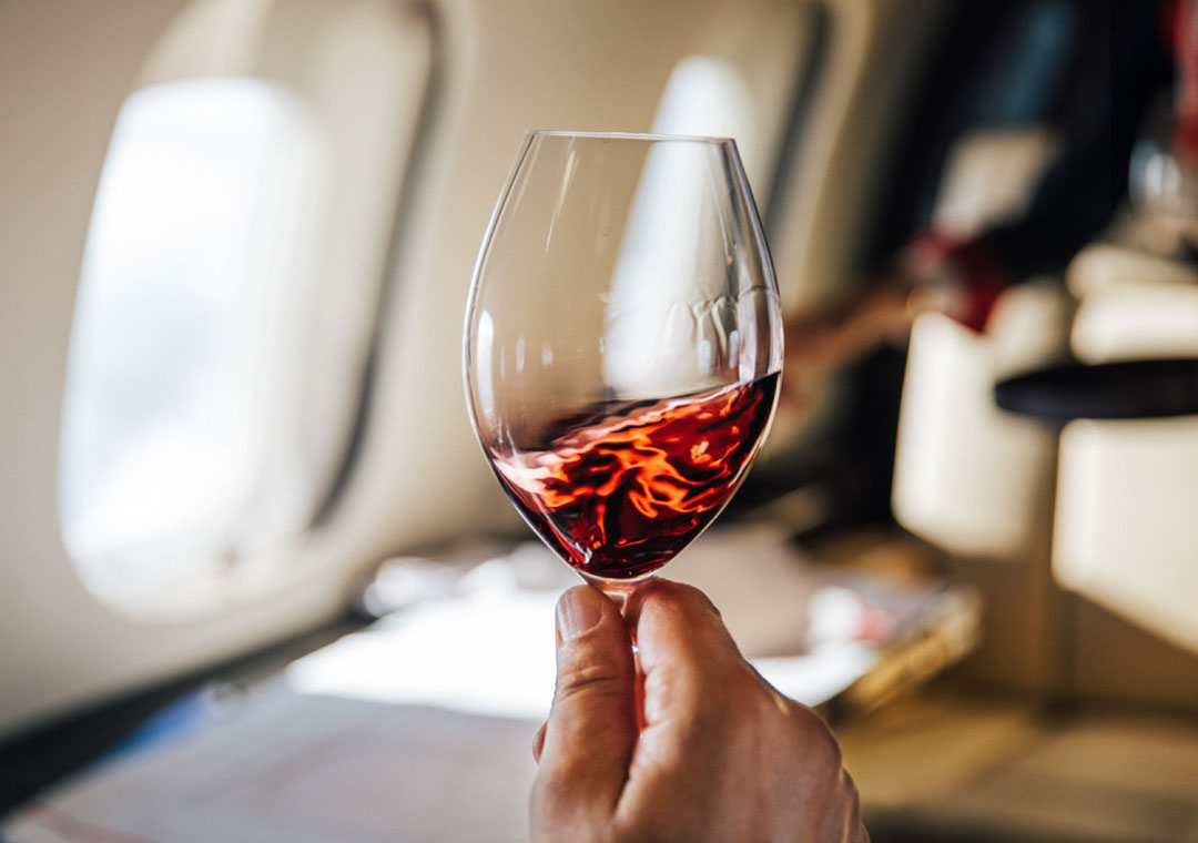 The VistaJet<br/>wine program