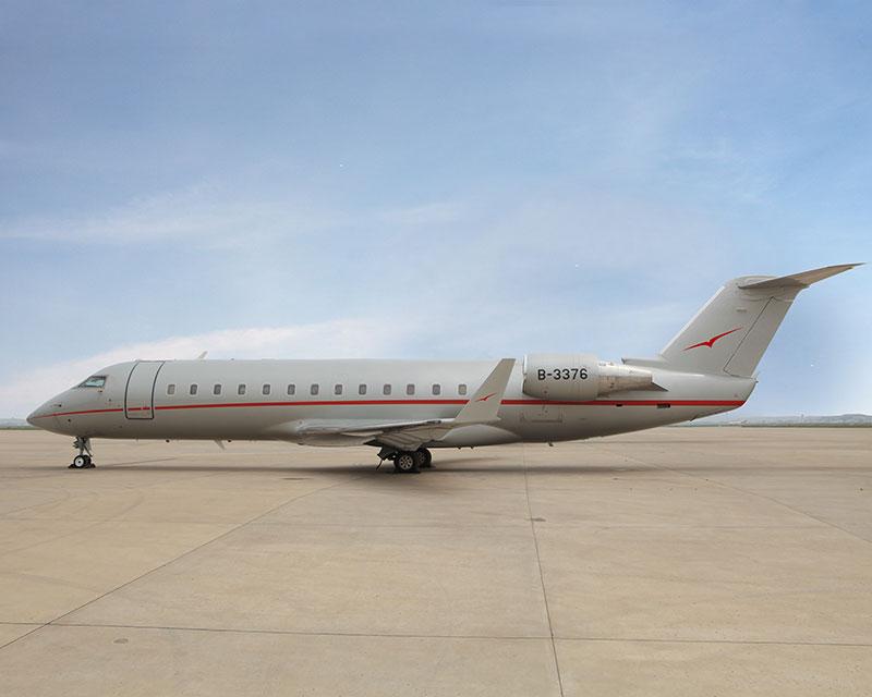 维思达公务机首架中国注册飞机已抵华