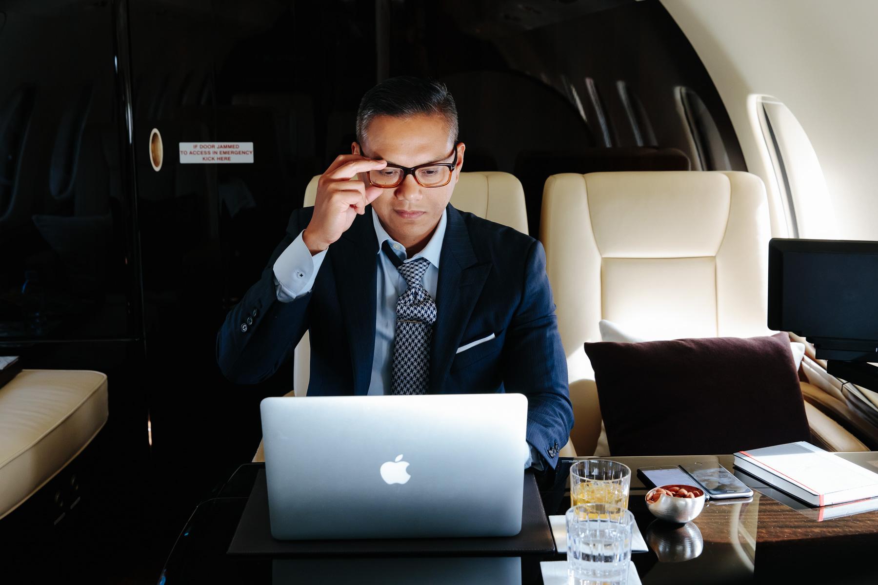 最新公务航空报告揭示商业精英和高净值旅客的飞行偏好