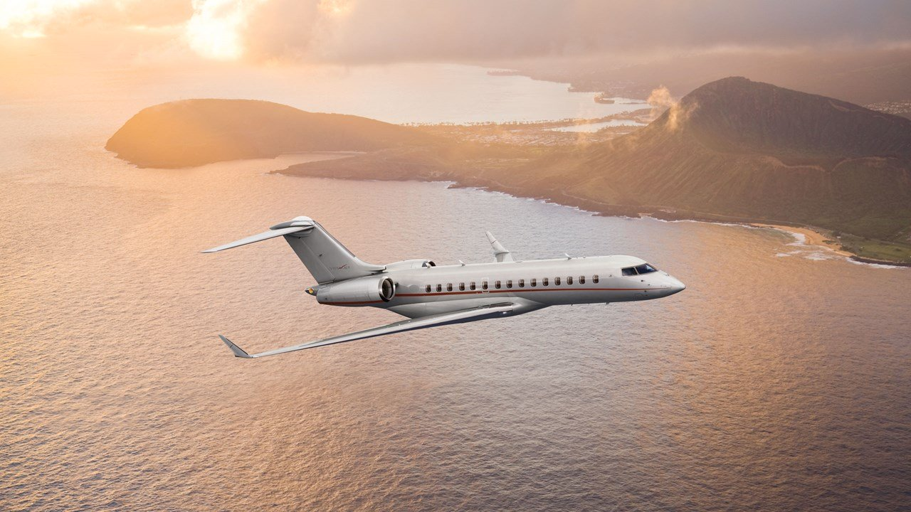 Short-term private jet lease