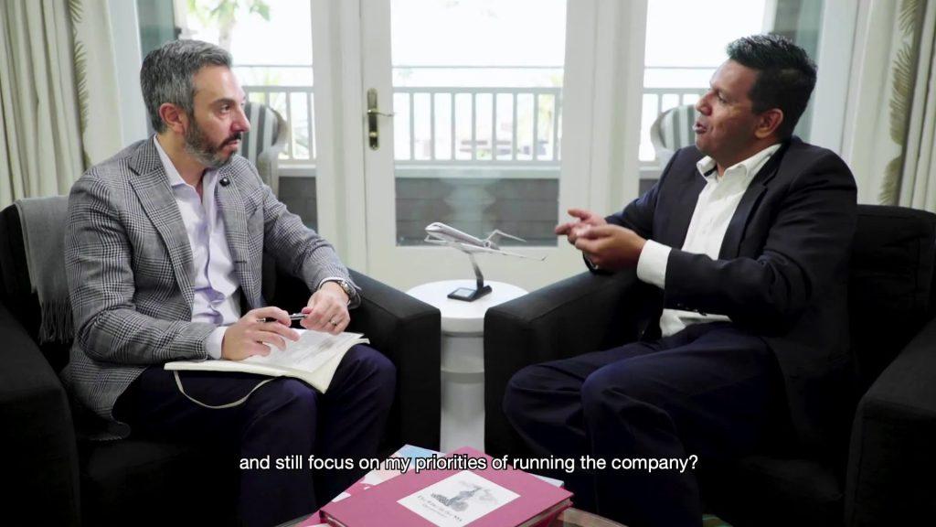 对话CEO-Kandasamy 01- 维思达公务机