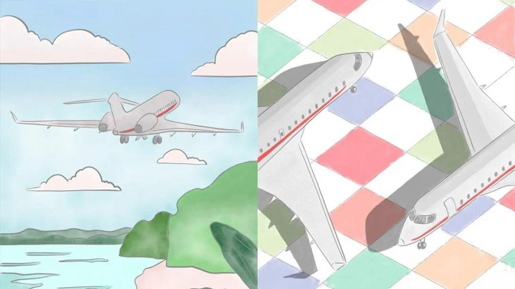 亲子私人飞行02- 维思达公务机